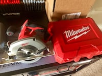 Milwaukee M18 Fuel Circular Saw and Drill (w/ Case) Lovettsville, 20180