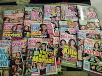 .50c each or 114 soap mags for $40 Guelph, N1E 6S8