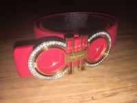 Red Ferragamo belt  Ottawa, K1H