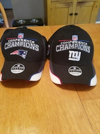 Superbowl 42 Division champion hats