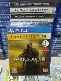 Dark Souls 3 Game Of The Year Edition Ps4 8410 km