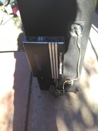 black and gray corded power tool 2272 mi