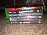 70$ for all, price varies if you pick one game   Tarentum, 15084