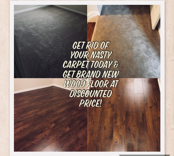 Water Resistant Laminate Floor 123mm Thick In Letgo