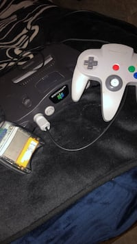 white Nintendo 64 console with controller Brigham City, 84302