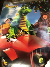 The Adventures of Dudley The Dragon rare vintage poster $5 New Westminster, V3M 1E8