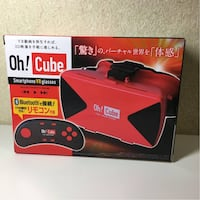 BNIB Oh! Cube - Smartphone VR Glasses (with Remote)