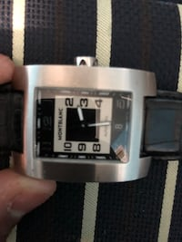 Mont blanc automatic watch with leather Vaughan, L4K 5K3