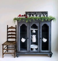 Display China Cabinet Hutch Farmhouse Style Aldie, 20105