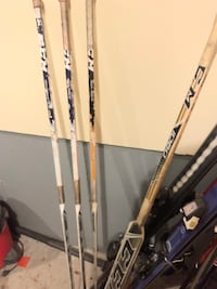 Used goalie hockey stick