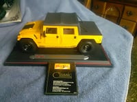 Hummer 1:18 scale collectable car.
