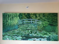 Large oil painting art on canvas