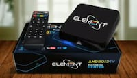 black and white Element Android TV box and remote Niagara Falls, L2G 6X6