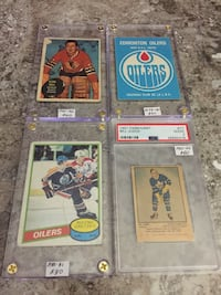 Big lot of old valuable hockey cards  553 km