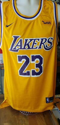 RETRO LEBRON JAMES LAKERS JERSEY  South Gate, 90280