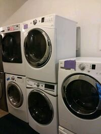 whirlpool washer and dryer set excellent condition 4months warranty  Halethorpe, 21227