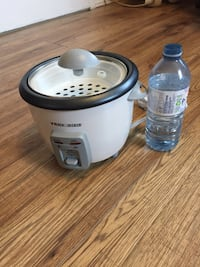 Rice cooker.