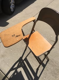 black and brown folding chair Elkhart, 46516