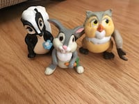 Disney Bambi Plastic Figurines