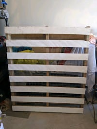 Wood pallet for event or wedding