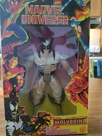 Marvel Universe Wolverine action figure with box Martinsburg, 25401