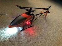 red and black RC helicopter Centereach