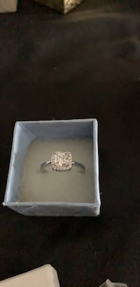 sterling silver  c z  diamond size 7 ring Virginia Beach, 23452