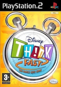 disney think fast for PS2