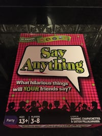 Say Anything Party Game