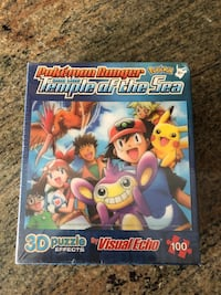 Pokemon Ranger and the Temple of the Sea collector 3D Puzzle  Pickering, L1V 4X8