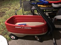 red and black Radio Flyer pull wagon Dublin, 94568