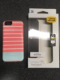 striped Otterbox Symmetry case for iPhone 6/6s Hamilton, 31811