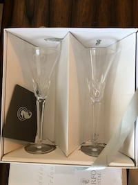 Waterford Crystal - Champagne Glasses (Wine) Sterling, 20166