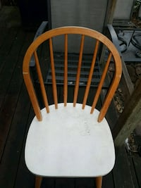 Windsor back chairs.