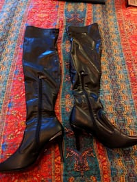 Black Thigh High Boots - designer Silver Spring, 20904