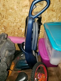 blue and red upright vacuum cleaner Spokane, 99202