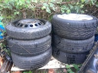 four black auto tire set Rockville, 20852