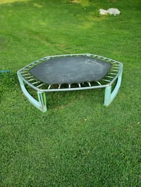 black and white trampoline with enclosure Floyds Knobs, 47119
