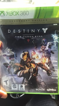 Destiny The Taken King Xbox One game case Owings Mills, 21117