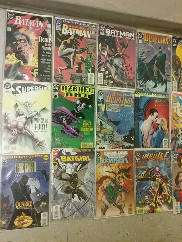 48 to 50 comic books different years different typ