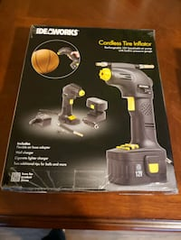 Ideaworks Cordless Tire Inflator.