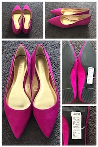 Very Pretty Fuchsia Shoes  Calgary, T2P