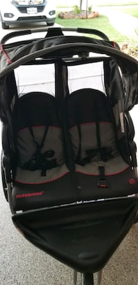 Baby Trend. Double Side by side jogging stroller with speakers,