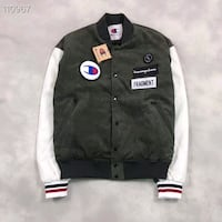 CHAMPION FRAGRENT BACKSTAGE JACKET IN GREEN
