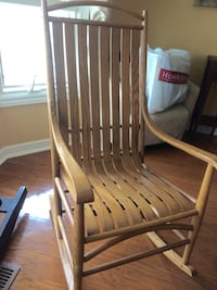 Solid wood rocking chair London, N6K 3R4