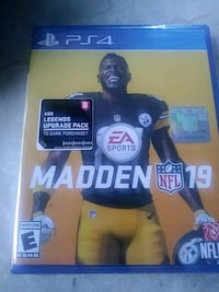 Brand New PS4 Madden 19 with download content  Tampa, 33612