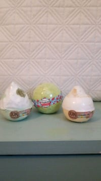 Bath bombs 3 each Kitchener