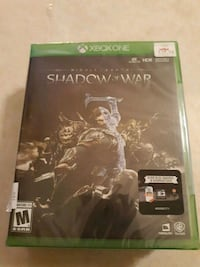 Xbox One Shadow of Mordor game case Elkhart, 46514