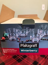 Pfaltzgraff Christmas mugs Fall River, 02723