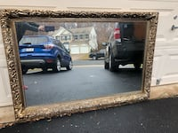 Bassett Extra Large Gold Colored Decorative Mirror  48 km